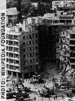 US embassy in Beirut, Lebanon, after the April 18, 1983 bombing