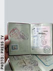 Forged passports
