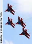 Sukhoi-27 jets