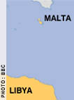 Libya and Malta