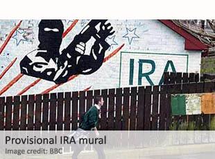 Provisional IRA mural