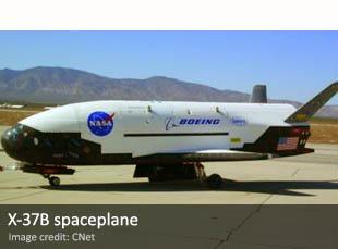 X-37B spaceplane