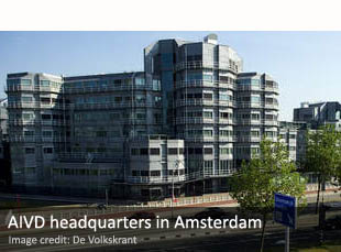 AIVD headquarters in Amsterdam