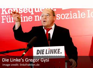 Die Linke's Gregor Gysi