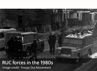 Royal Ulster Constabulary forces in the 1980s