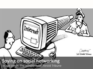Spying on social networking