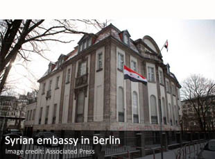 Syrian embassy in Berlin