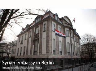 Syrian embassy in Berlin