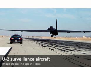 U-2 surveillance aircraft