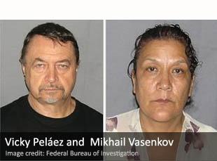 Vicky Peláez and  Mikhail Vasenkov