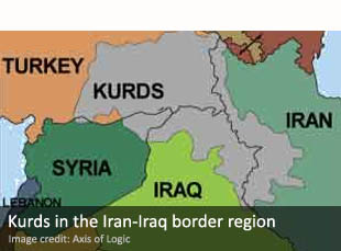 Kurds in the Iran-Iraq border region
