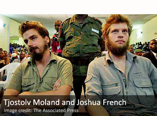 Tjostolv Moland and Joshua French