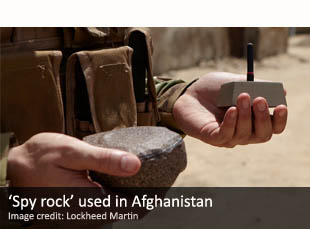 'Spy rock' used in Afghanistan