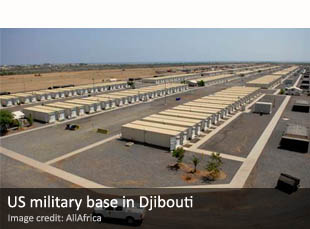 US military base in Djibouti
