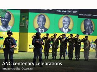 ANC centenary celebrations