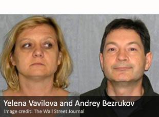 Yelena Vavilova and Andrey Bezrukov