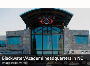 Blackwater/Academi headquarters