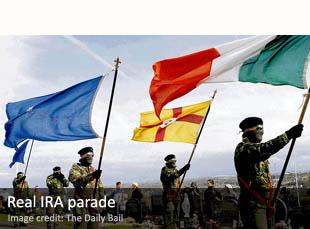 Real IRA parade