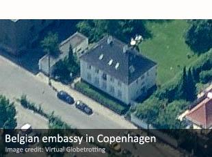 Belgian embassy in Copenhagen