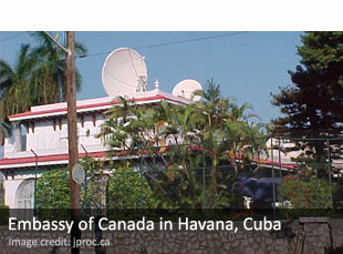 Embassy of Canada in Havana, Cuba
