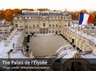 The Palais de l'Élysée