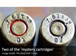 Two of the 'mystery cartridges'