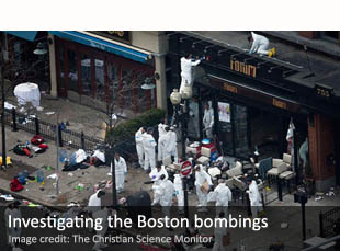 Investigating the Boston bombings