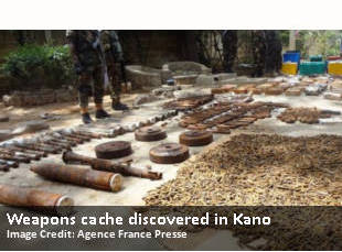 Weapons cache discovered in Kano