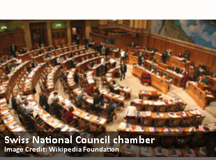 Swiss National Council chamber