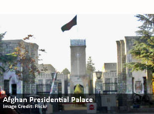 Afghan Presidential Palace