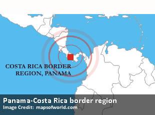 Panama-Costa Rica border