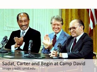Sadat, Carter and Begin