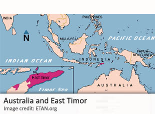 Australia and East Timor