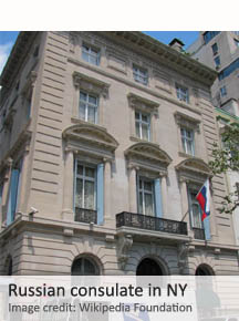 Russian consulate in NY