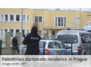 Palestinian diplomatic residence in Prague