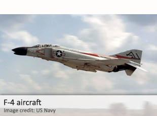 F-4 aircraft