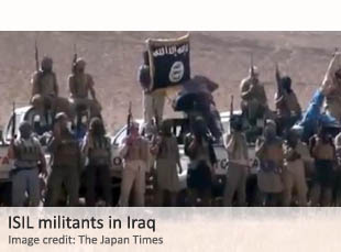 ISIL militants in Iraq