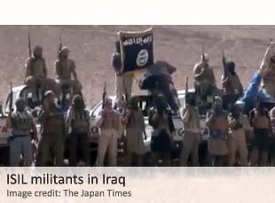 ISIL militants in Iraq