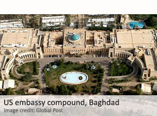 US embassy compound, Iraq