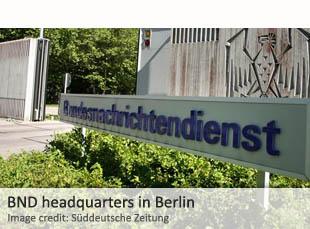 BND headquarters in Berlin