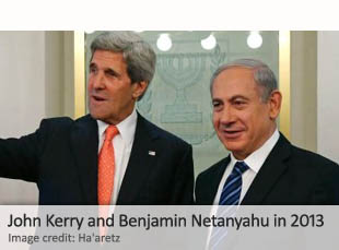 John Kerry and Benjamin Netanyahu in 2013