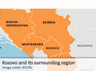 Kosovo and its surrounding region