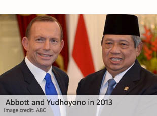Abbott and Yudhoyono