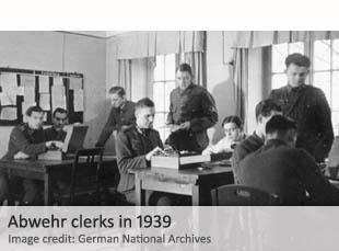 Abwehr clerks in 1939