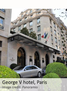 George V hotel, Paris