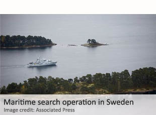Swedish search operation