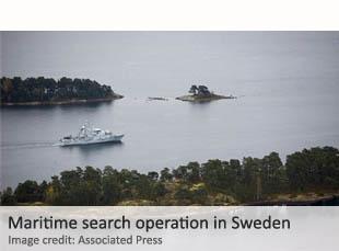 Swedish search operation
