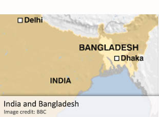 India and Bangladesh
