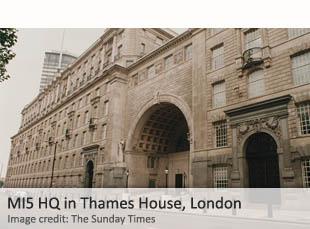 MI5 HQ Thames House