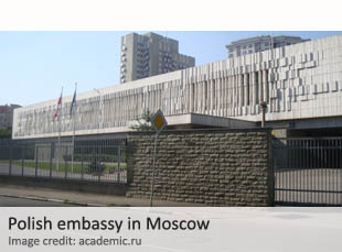 Polish embassy in Moscow